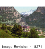 #18274 Photo Of Grindelwald Village Swiss Alps Bernese Oberland Switzerland