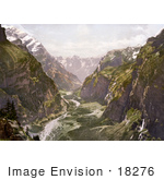 #18276 Photo Of Gasternthal Valley Kandertals; Kandersteg Bernese Oberland Switzerland
