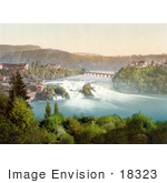 #18323 Photo Of The Rhine Falls Schaffhausen Switzerland