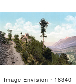 #18340 Photo Of The Ruins Of The Castle Saviese Valais Switzerland