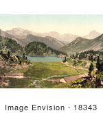 #18343 Photo Of Cavloccio Lake Swiss Alps Grisons Switzerland