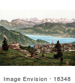 #18348 Photo Of Kaltbad Railway Swiss Alps Rigi Switzerland