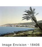 #18406 Photo Of Haifa On Haifa Bay Holy Land Israel