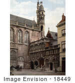 #18449 Photo Of The Chapel In Bruges Belgium