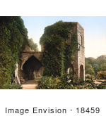 #18459 Photo Of The Old Tower At St Bavon Abbey In Ghent Belgium