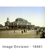 #18461 Photo Of The Kursaal Ostend Belgium