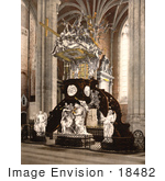 #18482 Photo Of The Pulpit At The Saint Bavon Abbey Ghent Belgium