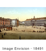 #18491 Photo Of St Lambert Place Liege Belgium