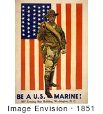 #1851 First In The Fight Always Faithful Be A US Marine!