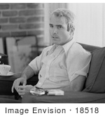 #18518 Photo Of John Mccain During An Interview After Being Released In 1974