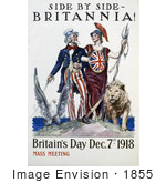 #1855 Side by side - Britannia! Britain by JVPD