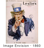 #1860 Uncle Sam In Leslie