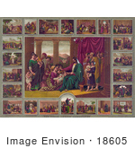 #18605 Photo of Various Scenes of the Life of Jesus Christ by JVPD