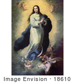 #18610 Photo Of The Mother Of Jesus Mary As The Immaculate Conception