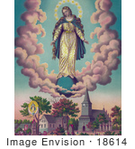#18614 Photo Of Miraculous Manifestaions Of The Virgin Mary