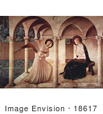#18617 Photo Of The Annunciation Mary Mother Of Jesus And Archangel Gabriel