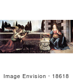 #18618 Photo Of The Revelation To Mary By The Archangel Gabriel The Annunciation