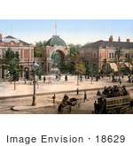 #18629 Photo Of The Entrance Gate To Tivoli Gardens In Copenhagen Denmark