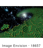 #18657 Stock Photo Of Polycyclic Aromatic Hydrocarbons Complex Organic Molecules In The Early Universe
