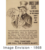 #1868 Uncle Sam Says: All The Kings In The World Can