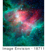 #18711 Photo Of The Eagle Nebula Messier Object 16 M16 Ngc 6611