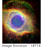 #18714 Photo Of A Dead Star Refusing To Fade In The Aquarius Constellation