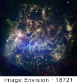 #18721 Photo Of The Large Magellanic Cloud (Lmc)