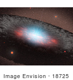 #18725 Photo Of A Black Hole In The Center Of A Galaxy