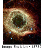 #18739 Photo Of The Helix Nebula (Ngc 7293)