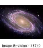#18740 Photo Of The M81 Galaxy Ngc 3031 Bode'S Galaxy