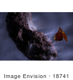 #18741 Photo Of Deep Impact'S Encounter With Comet Tempel 1