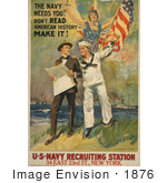 #1876 The Navy Needs You! Don
