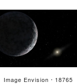 #18765 Photo Of An Un-Named Planet 2003ub313 And The Sun