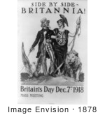 #1878 Side By Side - Britannia! Britain