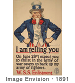 #1891 Uncle Sam - I Am Telling You