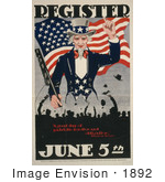 #1892 Uncle Sam Register June 5th