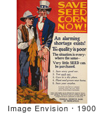 #1900 Save Seed Corn Now!