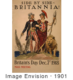 #1901 Side By Side - Britannia! Britain
