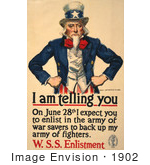 #1902 Uncle Sam - I Am Telling You