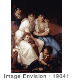 #19041 Photo Of A Portrait Of A Family By Francesco Hayez