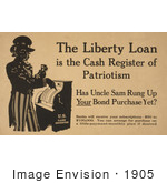 #1905 The Liberty Loan Is The Cash Register Of Patriotism