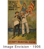 #1906 The Navy Needs You! Don