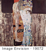 #19072 Photo of Nude Women With a Child, The Three Ages of Woman, Drei Lebensalter by Gustav Klimt by JVPD