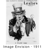 #1911 Uncle Sam In Leslie