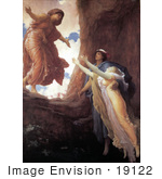 #19122 Photo Of The Return Of Persephone By Frederic Lord Leighton