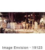 #19123 Photo Of The Daphnephoria By Frederic Lord Leighton