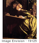 #19125 Photo Of The Painter'S Honeymoon By Frederic Lord Leighton