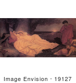 #19127 Photo Of Cymon And Iphigenia By Frederic Lord Leighton