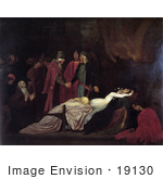 #19130 Photo of the Montagues and Capulets Over the Dead Bodies of Romeo and Juliet by JVPD