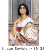 #19134 Photo of a Roman Woman, La Nanna by Frederic Lord Leighton by JVPD